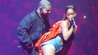 Drake & Rihanna Peforms Too Good (Live At OVO Fest 2016)
