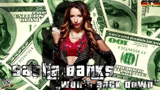 "2014: Sasha Banks - WWE Unused Theme Song - ""Won't Back Down"" [Download] [HD]"