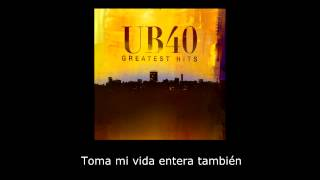 UB40 - I Can't Help Falling in Love With You (subtitulos en español)