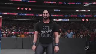 WWE 2K18 Seth Rollins/w Redesign, Rebuild, Reclaim AND Burn It Down