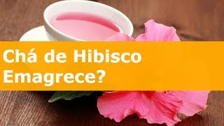 Chá de Hibisco Emagrece: Aprenda Como Fazer