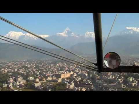 полёты над Покхарой Непал ultra light flight in Pokhara Nepal