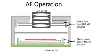 Sheba MEMS AF and OIS camera concept