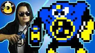 Mega Man 2 - Air Man Stage (Electric Guitar & Violin Cover/Remix) || String Player Gamer