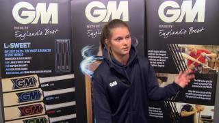 Amy Jones Gives Her Batting Tips - GM Cricket