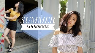 SUMMER LOOKBOOK 2017 ft. Paolo | Simple and Cute Outfit Ideas