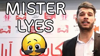 لياس حايدور في حفل Mister Lyes Podcast Arabia