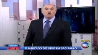 Marcelo Rezende fala da sua relação com os travestis de São Paulo