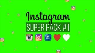 Instagram Super Pack #1 / Green Screen - Chroma Key