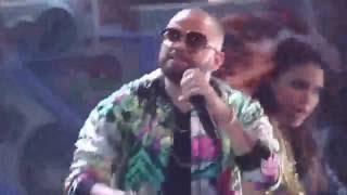 Andas en mi cabeza  - Chino y Nacho ft  Daddy Yankee, en vivo  Premios Juventud 2016
