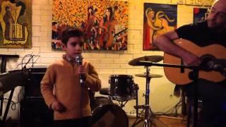 Duda a cantar 'a minha lambreta' de António zambujo