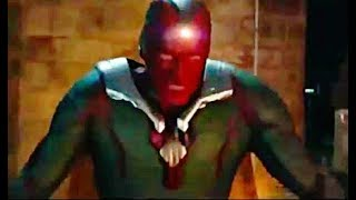 """Vingadores: Guerra Infinita (2018) Comercial De TV """"Visão Vs Thanos"""""""
