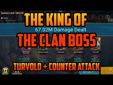 Turvold : The King of the Clan Boss I Raid Shadow Legends