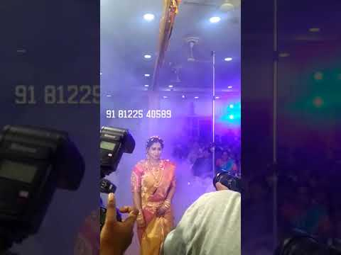 Flower Shower Bride Groom Entry Digital Wedding Marriage Reception Event Decoration Chennai , Bangalore , Andhra , Pondicherry +91 81225 40589