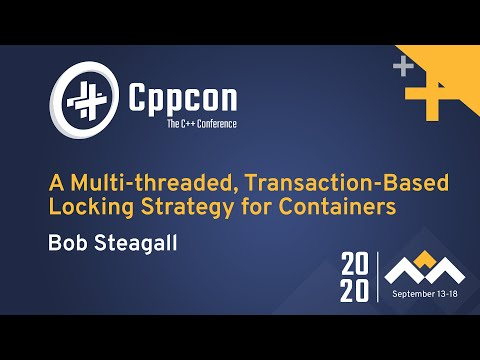 A Multi-threaded, Transaction-Based Locking Strategy for Containers