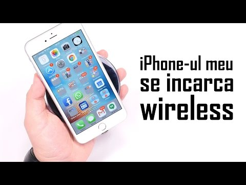 iPhone-ul meu se încarcă wireless!!!