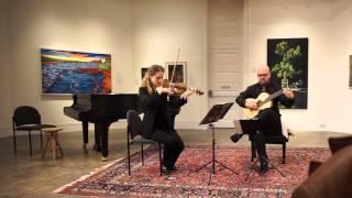 Niccolò Paganini, Sonata concertata, II. Adagio assai esspresivo