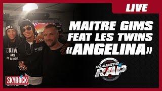 """Maître Gims """"Angelina"""" feat. Les Twins #PlanèteRap"""