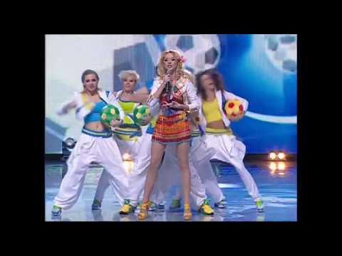 НАТАЛЬЯ ВАЛЕВСКАЯ- Олео (Euro 2012 in Ukraine Oleo Natalia Valevskaya)