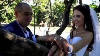Свадебный клип Александр и Яна .Видеоограф Анна т.+380990177567