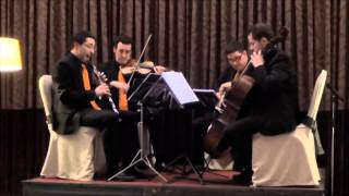 The entertainer - BSO El golpe - Ad Libitum - 4musicos