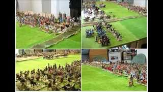 "Battle of Magnesia 190BC - Wargame in 54mm using ""About Caesar"""