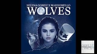 Selena Gomez, Marshello   Wolves Lyrics karaoke
