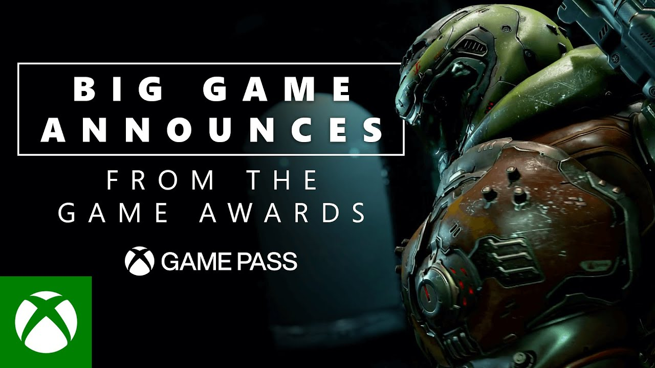 Big game announces from the game awards, Xbox Game Pass