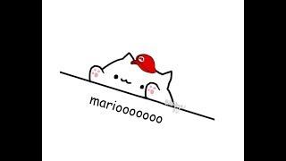 Bongo Cat takes on Super Mario