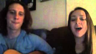 I Kissed A Girl cover. Kaylee Serna and Brandon Boldery
