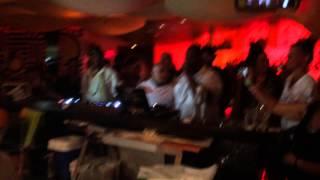 Kenny Bobien singing happy birthday to Duce Martinez @ Sushi Samba, Miami WMC - March 2015