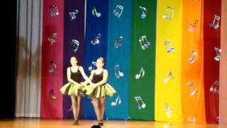 Apresentaçao de 2011- Fusao ballet classico com rock