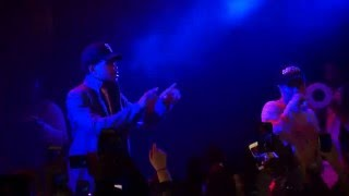 Taylor Bennett - Broad Shoulders (ft. Chance the Rapper) Live 12/26/2015 Chicago,IL Lincoln Hall