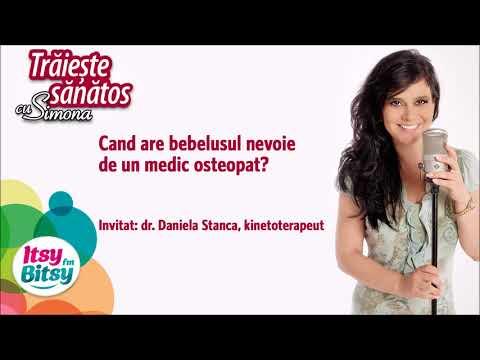 Cand are bebelusul nevoie de un medic osteopat?