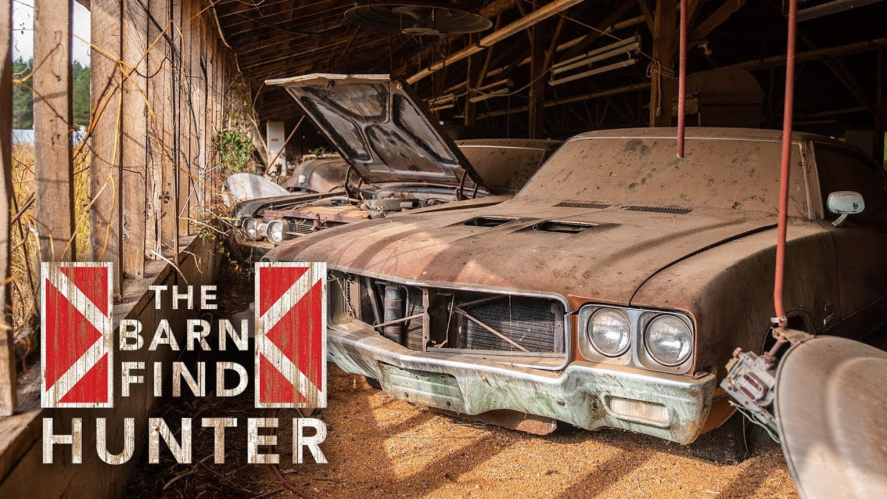 Oldsmobile 442s rule the roost in the latest Barn Find Hunter
