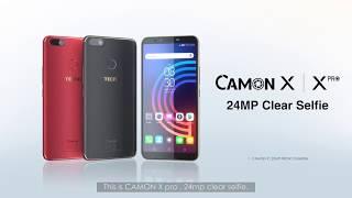 Lancement Tecno Camon X Pro