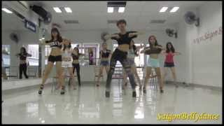 Don't Cha - The Pussycat Dolls ft Busta Rhymes Sexy dance 2 Mr. Long SaigonBellydance