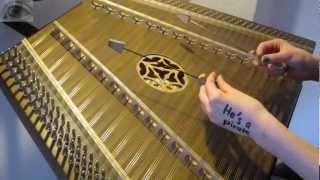 He's a pirate - Pirates of the Caribbean (hammered dulcimer/Hackbrett cover)