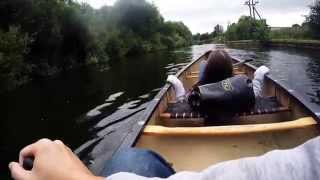 Canoeing on the river Lea