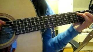 Ai mei - Rainie Yang (2nd time on acoustic guitar