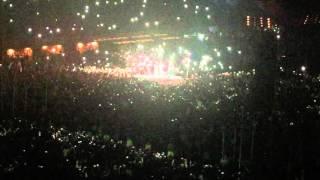 Coldplay  In My Place en Lima Peru 2016