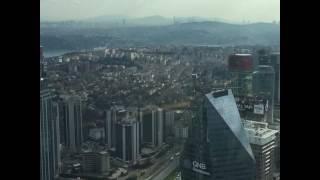 İstanbul'u gökyüzünden seyretmek başka bir şey