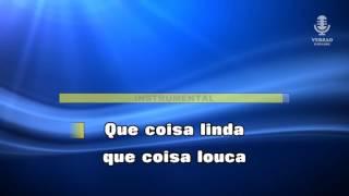 ♫ Karaoke COISA LINDA - Bandalusa