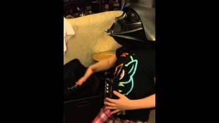 Darth Vader Happy Dance