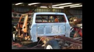1976 Ford F350 Crew Cab Restoration