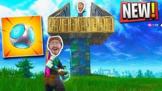 NEW PORT A FORT GRENADE GAMEPLAY!!  FORTNITE BATTLE ROYALE WITH TEAM ALBOE!!