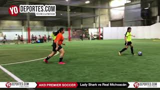 Lady Shark vs. Real Michoán AKD-Premier Soccer League