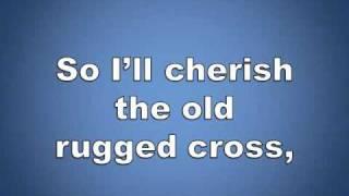 The Old Rugged Cross w/ lyrics piano worship video
