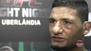 Dhiego Lima após a vitória: 'eu só pensei que não podia perder outra vez'