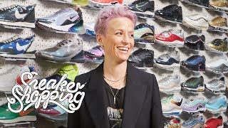 Megan Rapinoe Goes Sneaker Shopping With Complex